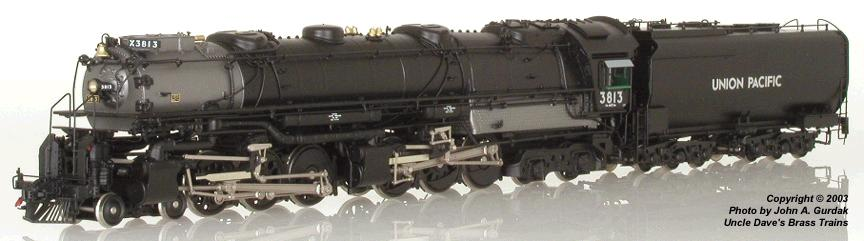 CIL 2485.1 - U.P. 4-6-6-4 OIL, 'Early Challenger', No.3813, imp. 2003, (eBay $1.726,-- Dec. 2004).1
