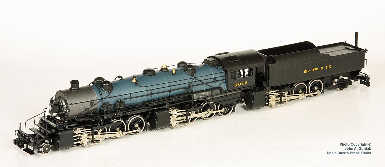 Key 015 - Erie 2-8-8-8-2 Triplex Russian Iron, No. 5016.1