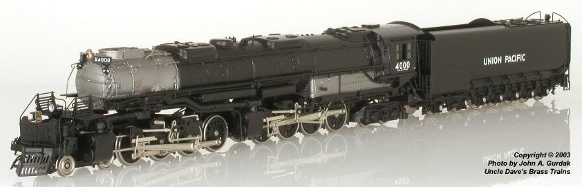 Key 101 - 4-8-8-4 Big Boy, early Version, UP, Customs Series No.101, UP No.4000 (1992 Import).1
