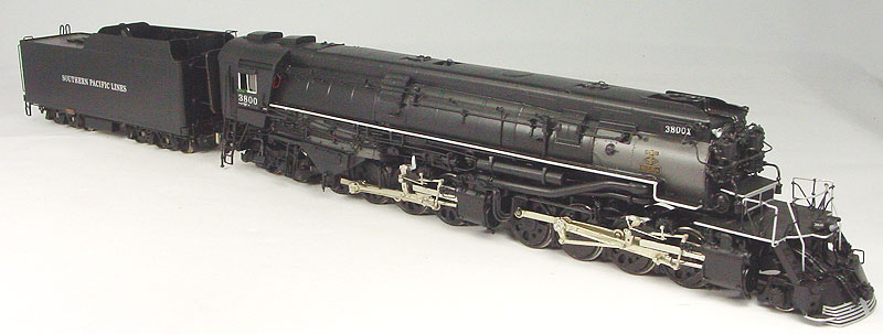 Key 110 - SP AC-9, 2-8-8-4, Customs Series 110, coasting drive, No.3800 (1992 run).01