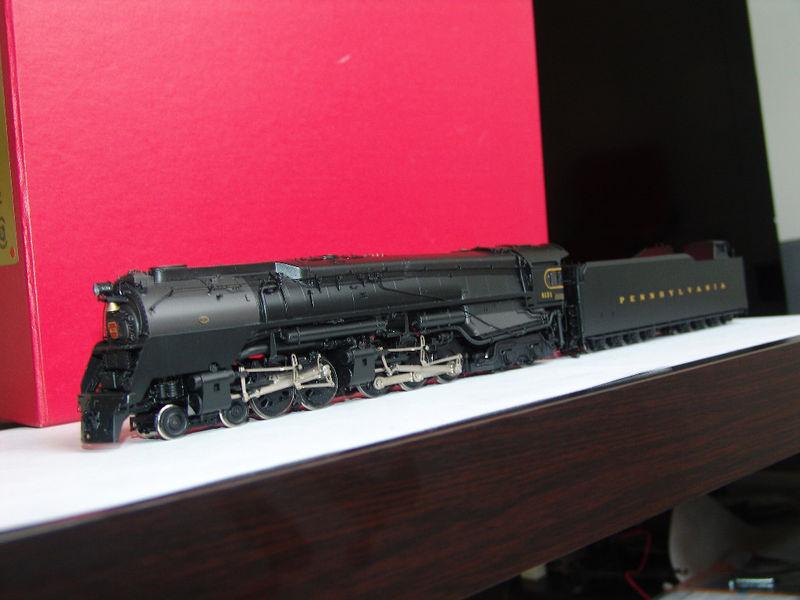Key - Q-2, DUPLEX, PRR, 4-4-6-4, as built, No.6131, 'Super Classic Benchmark Series', Last Run 2004 .1