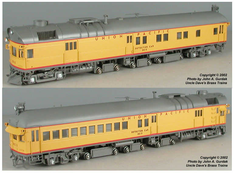 Overland 1860.1 - UP DC-3, Rail Detector Car, 1957 Era, 1999 release.3