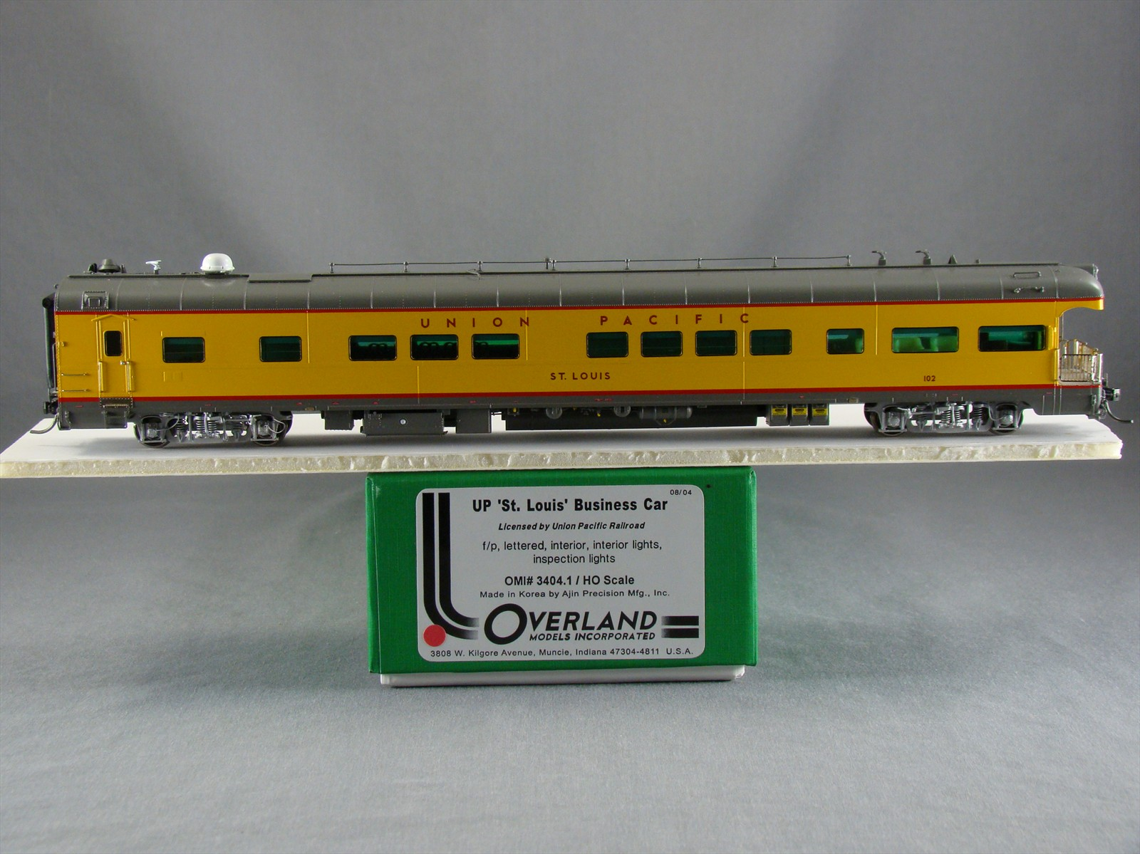 Overland 3404.1 - UP Modern Executive Business Car 'St. Louis'.10