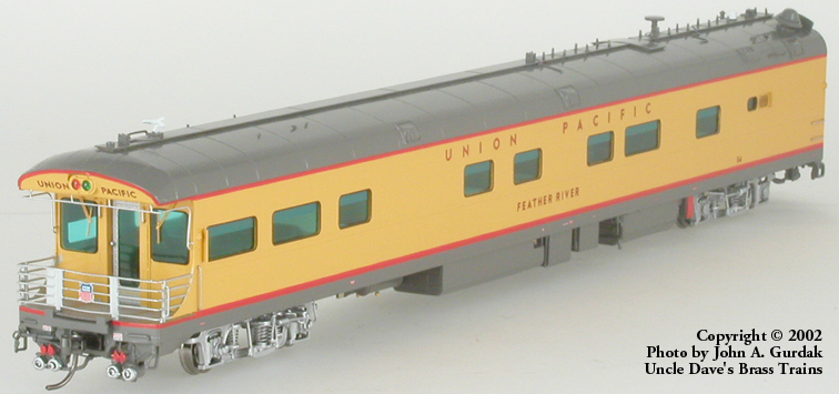 Overland 3405.1 - UP Modern Executive Business Car 'Feather River'.1