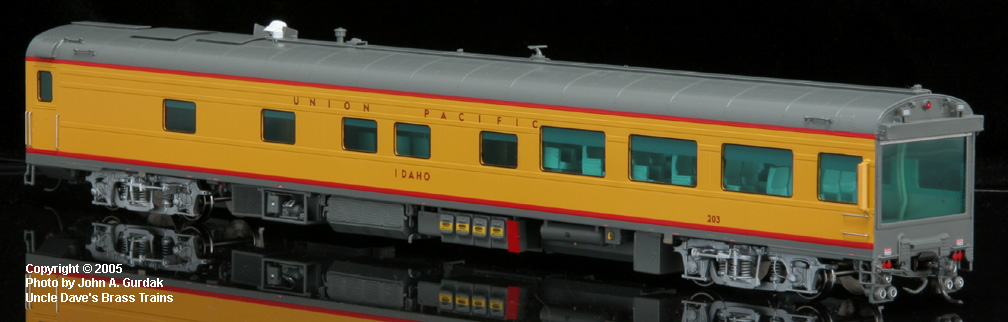 Overland 3412.1 - UP Modern Executive Track Inspection Car 'Idaho'.6