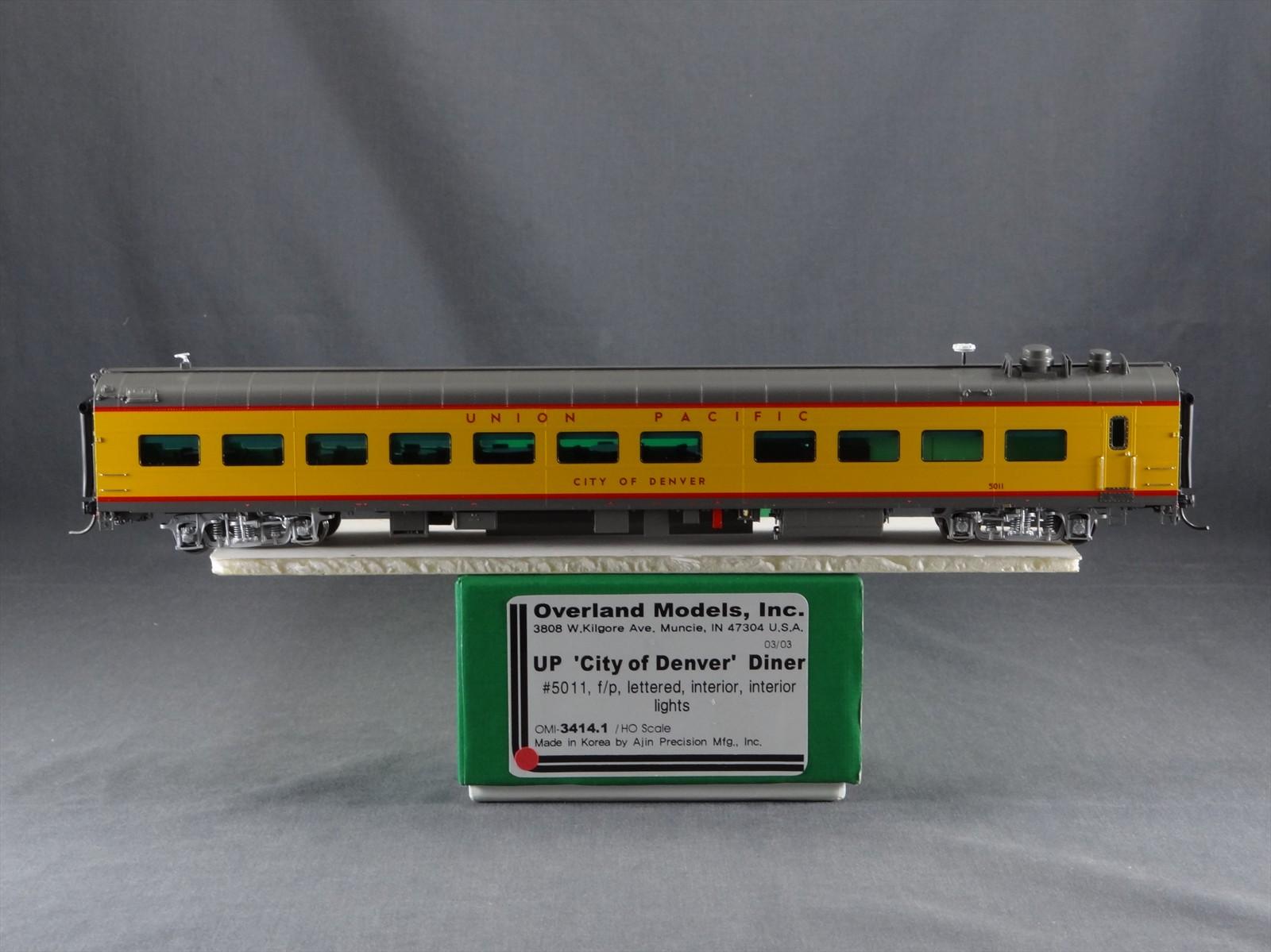 Overland 3414.1 - UP Modern Executive Diner 'City of Denver'.17 Box