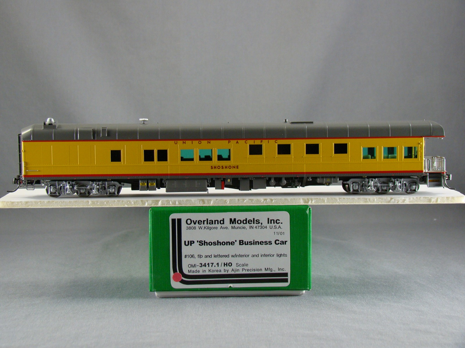 Overland 3417.1 - UP Modern Executive Business Car 'Shoshone',10