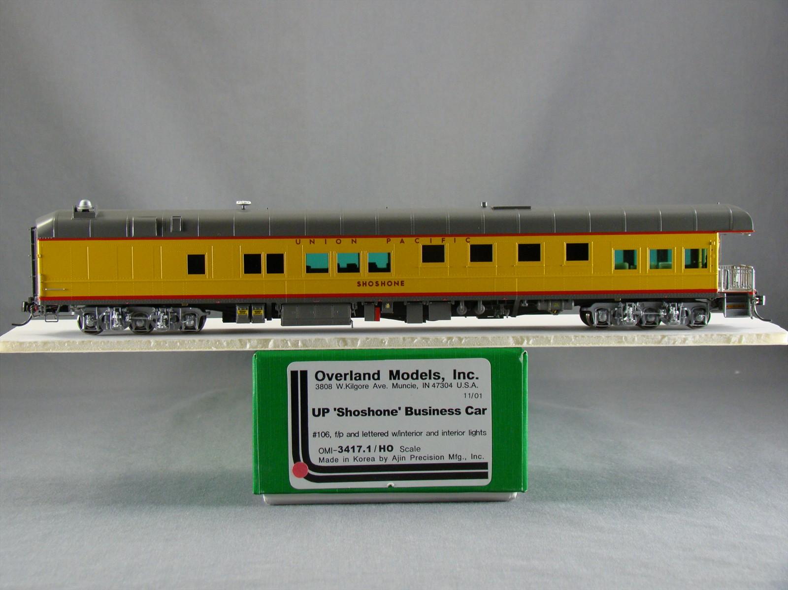 Overland 3417.1 - UP Modern Executive Business Car 'Shoshone',10