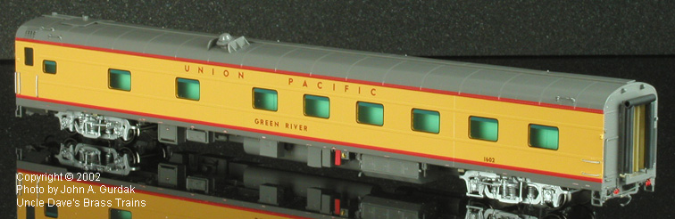 Overland 3422.1 - UP Modern Executive Sleeper 'Green River'.3