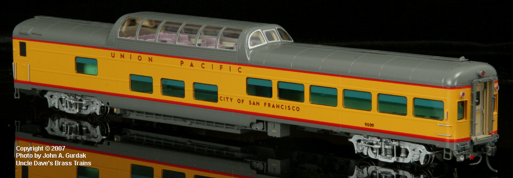 Overland 3425.1 - UP Modern Executive Dome Lounge 'City of San Francisco'.1
