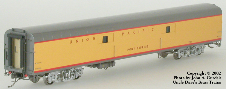 Overland 3440.1 - UP Modern Executive Baggage Car 'Pony Express'.2