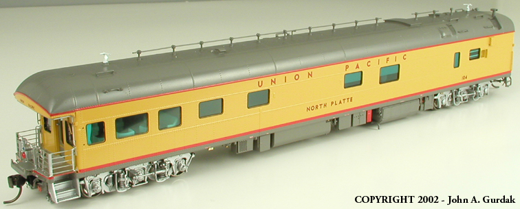Overland 3449.1 - UP Modern Executive Business Car 'North Plate'.7