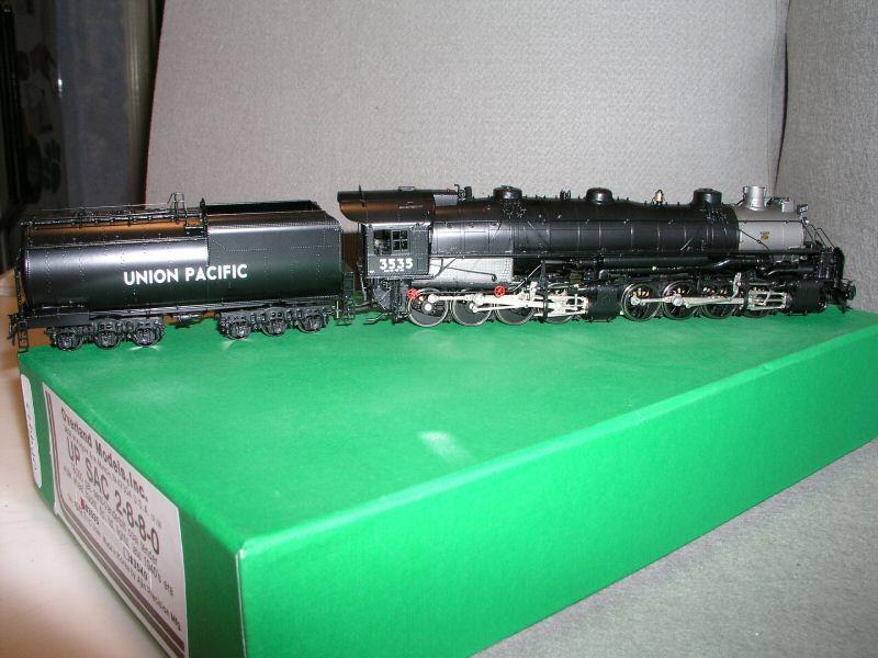 Overland 4542.1 - SA-C-2, 2-8-8-0 'Bull Moose', 18.000 gal. semi-Vanderbilt tender, 6-achsle, UP Nr.3535, 99 release.01
