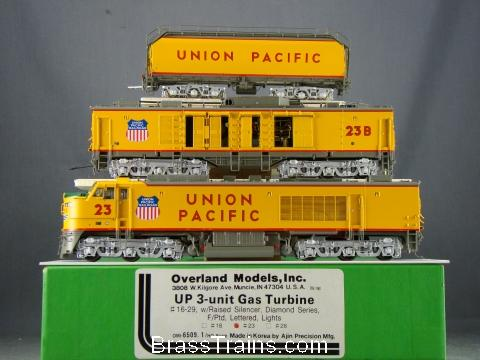Overland 6509.1- UNION PACIFIC 3-unit GAS TURBINE, Diamond Series, Nr.23.20 box