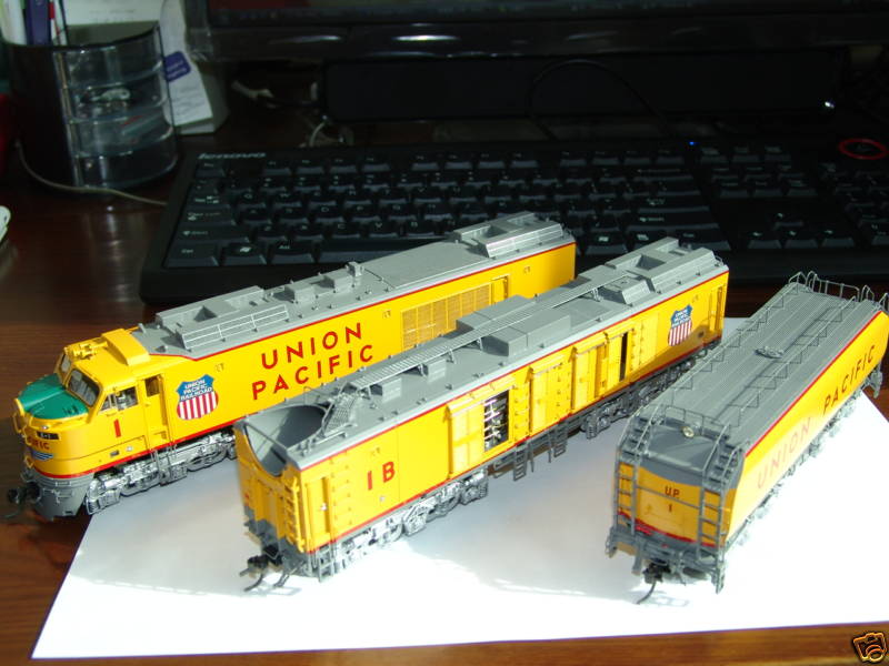 Overland 6570.1 UNION PACIFIC 3-unit GAS TURBINE No.1.02