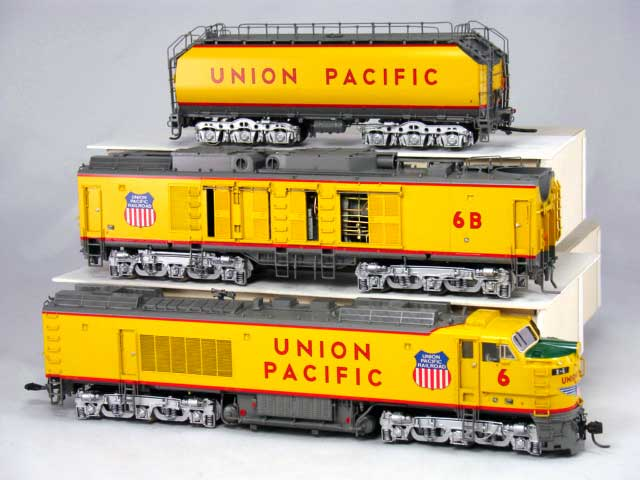 Overland 6571.1 UNION PACIFIC 3-unit GAS TURBINE, two raised intakes on B-unit, Nr.6. - 12