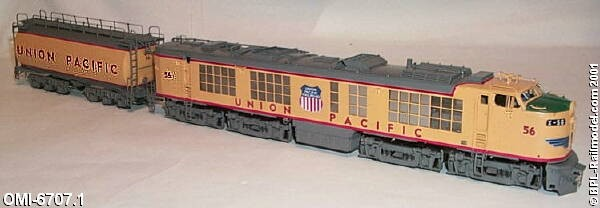 Overland 6707.1 UNION PACIFIC 2-unit STANDARD GAS TURBINE Nr.56.01
