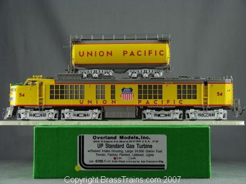Overland 6709.1 UNION PACIFIC 2-unit STANDARD GAS TURBINE Nr.54.10 Box