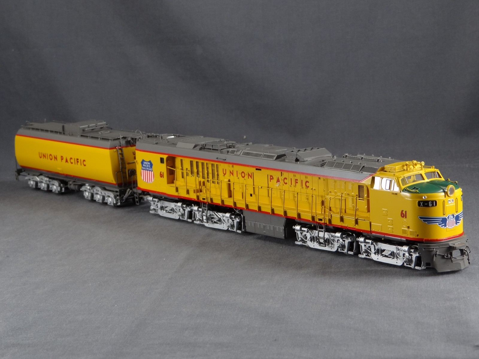 Overland 6711.1 UNION PACIFIC 'Veranda' GAS TURBINE Nr. 61.11