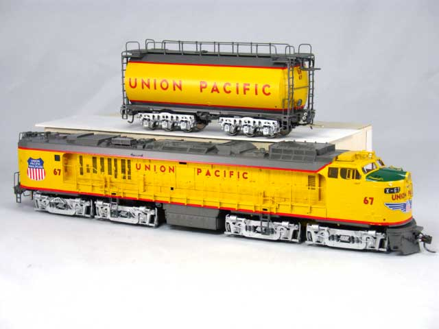 Overland 6713.1 UNION PACIFIC 'Veranda' GAS TURBINE with raised intake Nr. 67.01