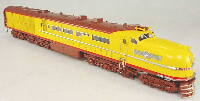 Overland 6729.1 - GE Steam Turbine Nr.1, Late Version, brown trucks and roof.11