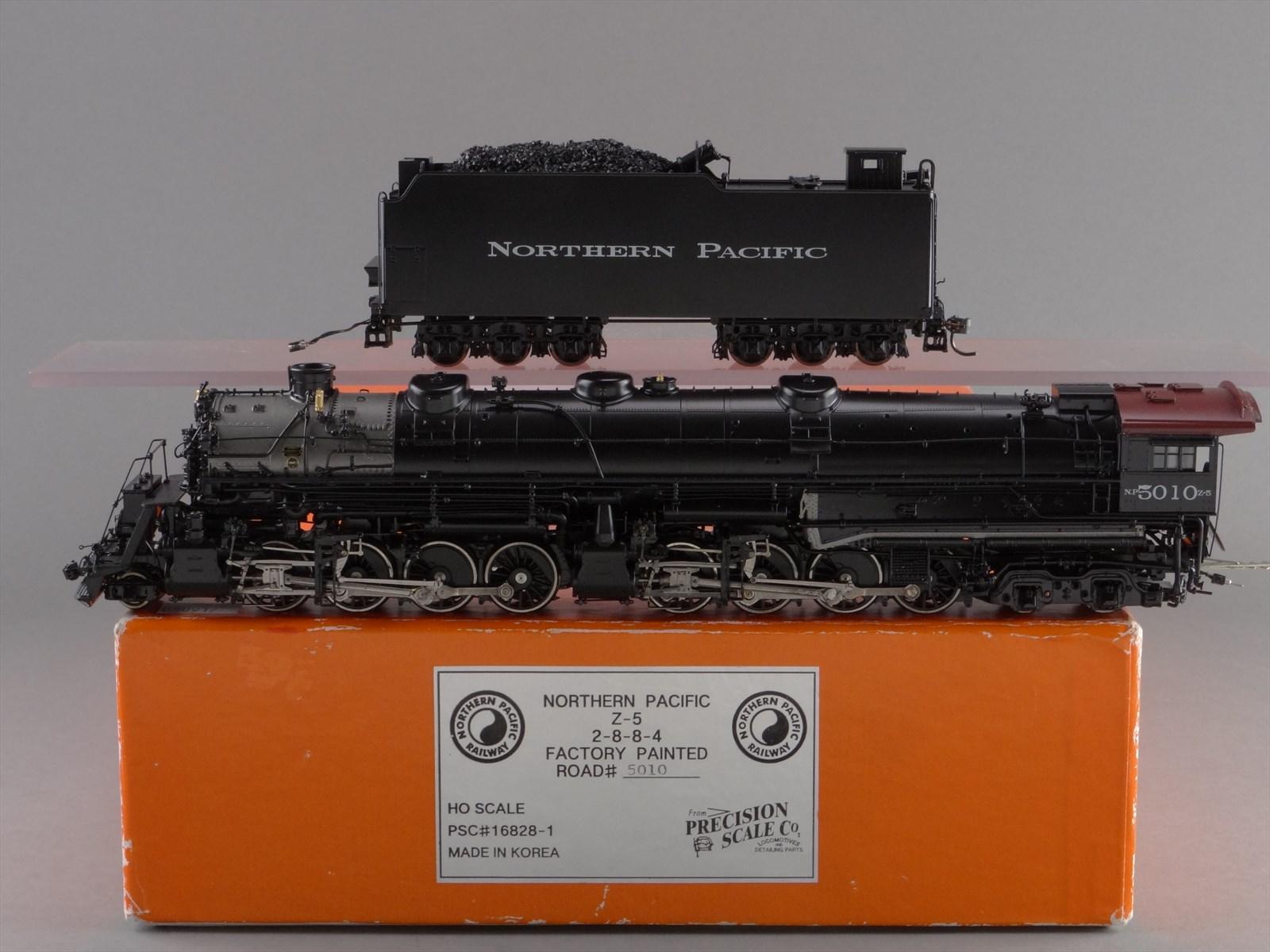 PSC 16828-1 - NP Z-5 - Northern Pacific, 2-8-8-4, Yellowstone No.5010 - Black Boiler.10 BOX