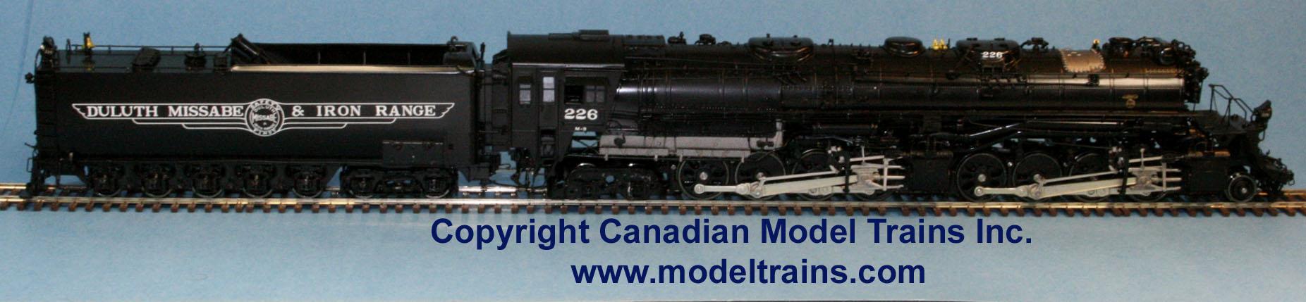 PSC 17214.1 - M-3, DM&IR, 2-8-8-4, Yellowstone, black boiler, No.226.2