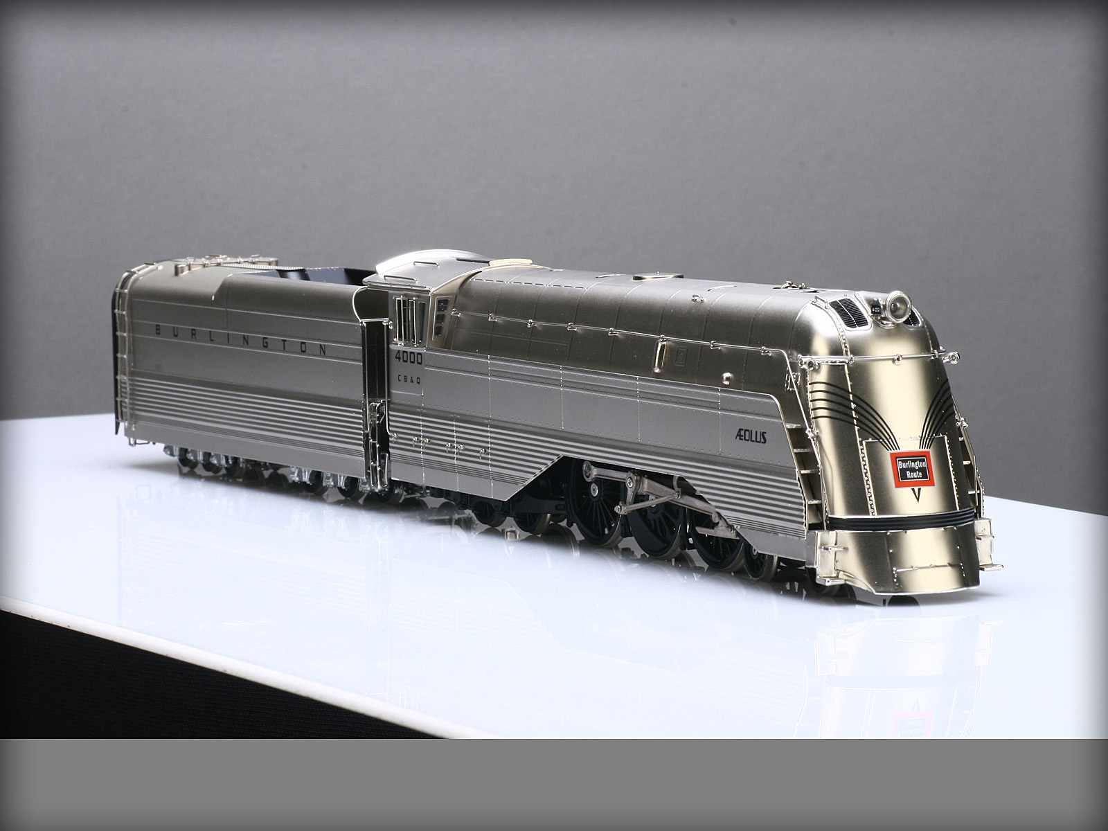 PSC 17586-1 - S-4a, CHICAGO, BURLINGTON & QUINCY, streamlined. 'AEOLUS'.05