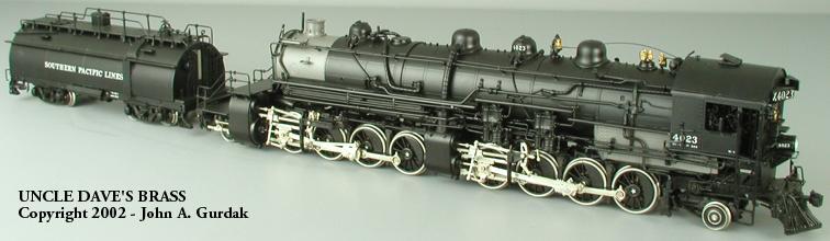 W&R 1994 (10th Anniv. Edit.) - MC-4, SP, No.4023 w. Whaleback Oil Tender, black-graphite.01 (Retail $ 2.800,--)