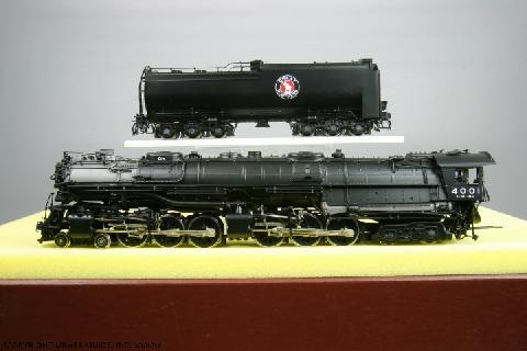 W&R - Z-6, GN, 4-6-6-4, No.4001.01