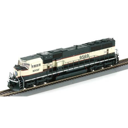 Athearn Genesis 6487-89 - SD70MAC, Phase II, BN-BNSF Patch, Executive, Nr.9569
