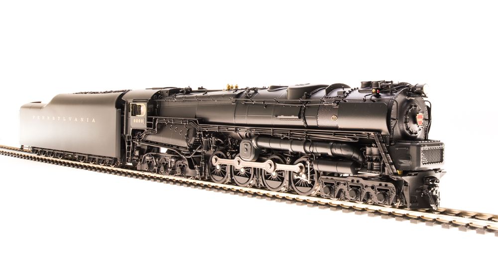BLI 2695 - PRR S2 6-8-6 Turbine No.6200, with small smoke deflectors.01