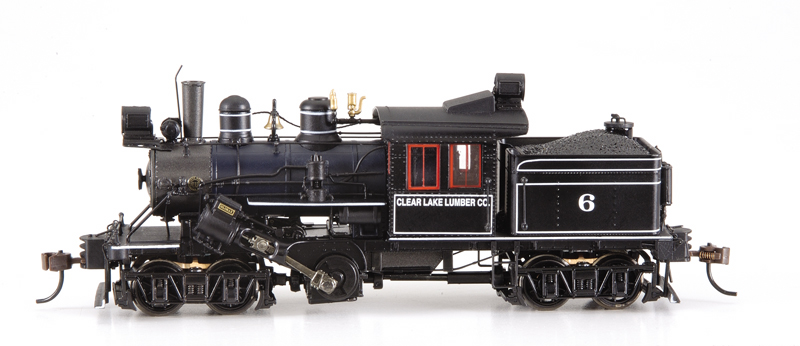 Bachmann-Spectrum 82806 - 50-Ton Two Truck Class B Climax, Clear Lake Lumber Co., No.6.01