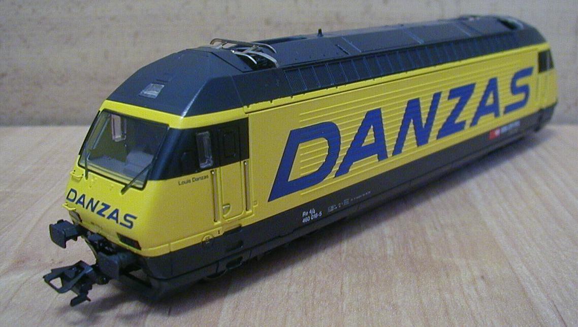 Maerklin 8353 - BR 460, 'DANZAS'