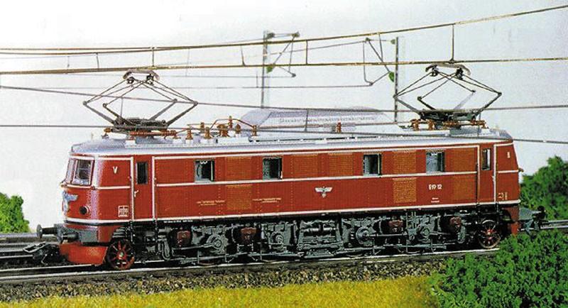 Maerklin 8369 - E19, rot, DRG