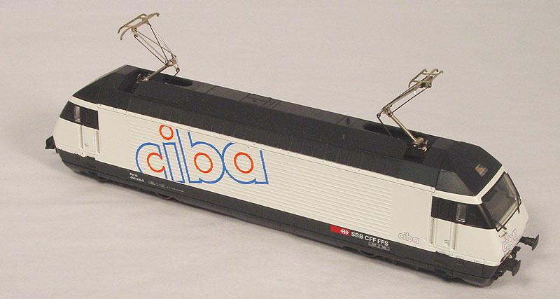 Maerklin-Hamo 8350 - BR 460 'Ciba' 1. Version weiss.2