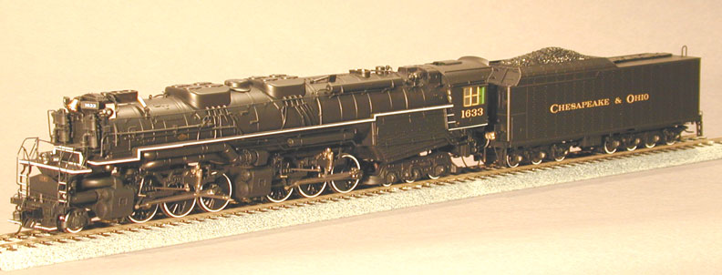 Rivarossi 5454 - Allegheny, Dampflok 2-3-3-3, C&O, Nr. 1633.2