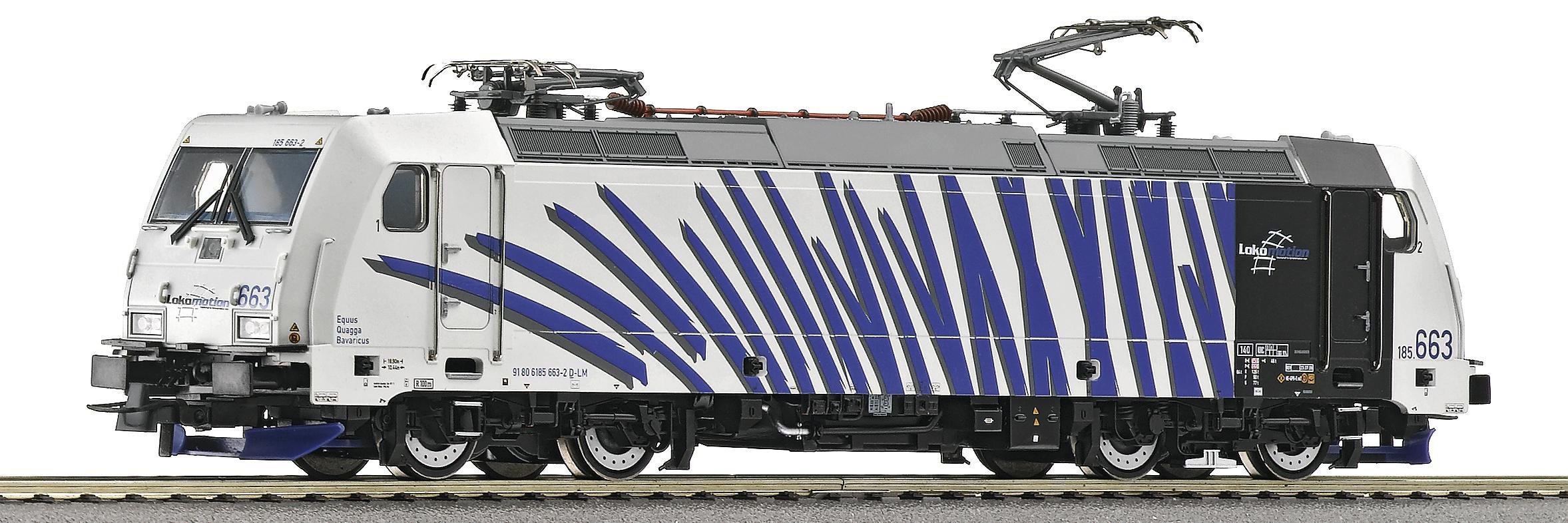 Roco 62390 - BR 185.5, 'Lokomotion', modernisierte Bauserie mit crashoptimiertem Lokkasten.1