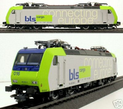 Roco 63594.1 - Re 485 500, BLS, hellgruen-silber, 'connecting europe', Nr. 016.1