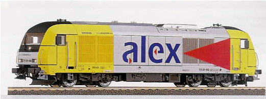 Roco 63991 - Siemens Dispolok Alex ER 20 63991.3