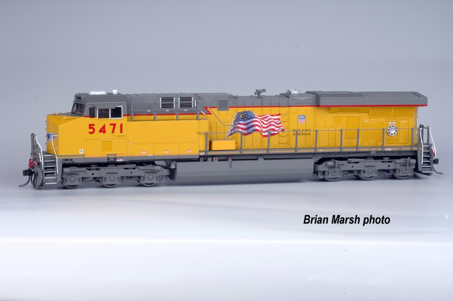Tower55 EA-0011-1 - ES44AC Union Pacific, yellow sill No.5460.2