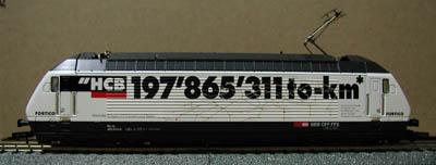 Trix 22581 - BR 460 014-4 SBB, HCB 197'865'311to-km.1