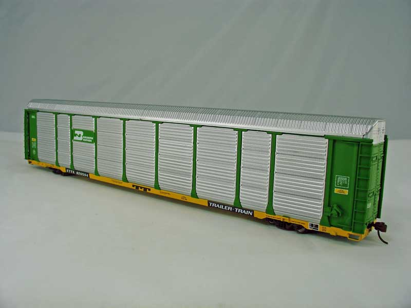 Walthers 4854 - Thrall 89' Bi-Level Enclosed Auto Carrier, BN.2