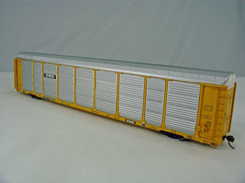 Walthers 4859 - Thrall 89' Bi-Level Enclosed Auto Carrier, TTX.1
