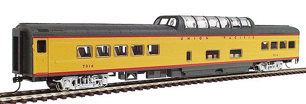 Walthers Rivarossi 6735 - UP Streamlined Cars - Standard Yellow Scheme 1950s-71, Dome No.7014