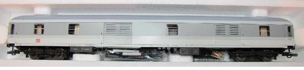 Roco 45251 - Dms 902.1, Gepäckwagen IC Farbgebung grau-weiss, Gepaeckwagen, DB AG-Keks
