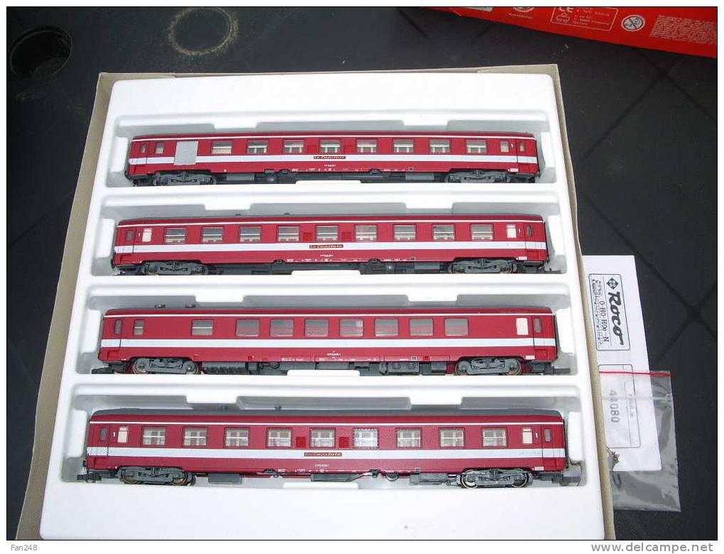 Roco 44080 - Set 4 Wagen 'Le Capitole', SNCF.10