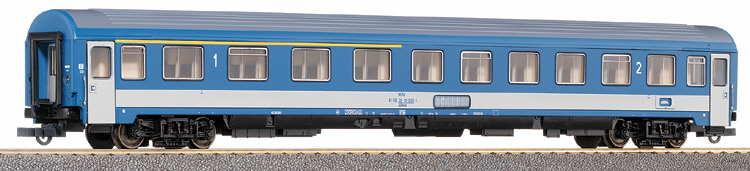 Roco 44498 - MAV, 1.-2. Kl. Eurocity-Wagen, blau-hellgrau