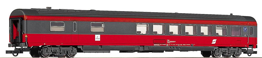 Roco 44647 - WRmz, OeBB, EUROFIMA, Speisewagen, neue Farbe grau-orange.1