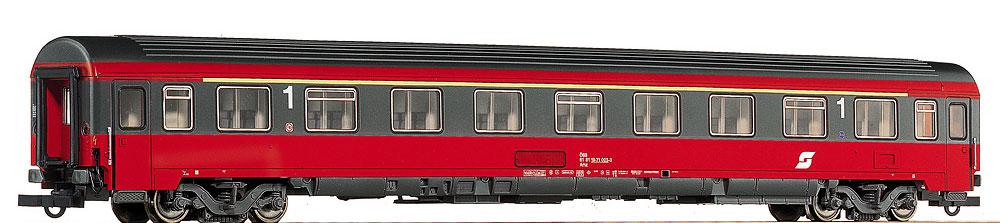 Roco 44665 - Amz, OeBB, EUROFIMA, 1. Klasse, neue Farbe grau-verkehrsrot.1